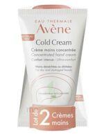 Avène Eau Thermale Cold Cream Duo Crème Mains 2x50ml à NEUILLY SUR MARNE