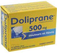 Doliprane 500 Mg Poudre Pour Solution Buvable En Sachet-dose B/12 à NEUILLY SUR MARNE