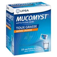 Mucomyst 200 Mg Poudre Pour Solution Buvable En Sachet B/18 à NEUILLY SUR MARNE