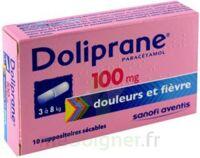 Doliprane 100 Mg Suppositoires Sécables 2plq/5 (10) à NEUILLY SUR MARNE
