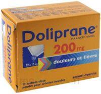 Doliprane 200 Mg Poudre Pour Solution Buvable En Sachet-dose B/12 à NEUILLY SUR MARNE