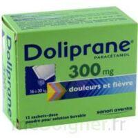 Doliprane 300 Mg Poudre Pour Solution Buvable En Sachet-dose B/12 à NEUILLY SUR MARNE