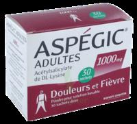 Aspegic Adultes 1000 Mg, Poudre Pour Solution Buvable En Sachet-dose 30 à NEUILLY SUR MARNE