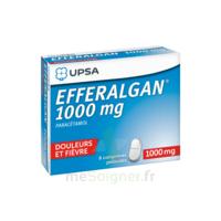 Efferalgan 1000 Mg Comprimés Pelliculés Plq/8 à NEUILLY SUR MARNE