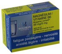 Magnesium/vitamine B6 Biogaran Conseil 48 Mg/5 Mg, Comprimé Pelliculé à NEUILLY SUR MARNE