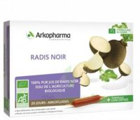 Arkofluide Bio Ultraextract Radis Noir Solution Buvable 20 Ampoules/10ml à NEUILLY SUR MARNE