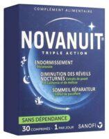 Novanuit Triple Action Comprimés B/30 à NEUILLY SUR MARNE
