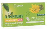 Les Elémentaires Sans Sucre Pastilles Maux De Gorge Aigus Menthe B/20 à NEUILLY SUR MARNE