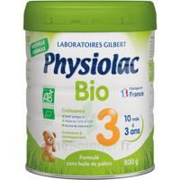 Physiolac Bio Lait 3éme Age 800g à NEUILLY SUR MARNE