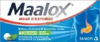 Maalox Hydroxyde D'aluminium/hydroxyde De Magnesium 400 Mg/400 Mg Cpr à Croquer Maux D'estomac Plq/60 à NEUILLY SUR MARNE