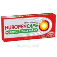 Nurofencaps 400 Mg Caps Molle Plq/10 à NEUILLY SUR MARNE