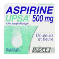 Aspirine Upsa 500 Mg, Comprimé Effervescent à NEUILLY SUR MARNE
