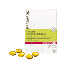 Pranarom Oleocaps 5 Caps Confort Gynécologique & Urinaire à NEUILLY SUR MARNE