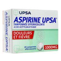 Aspirine Upsa Tamponnee Effervescente 1000 Mg, Comprimé Effervescent à NEUILLY SUR MARNE