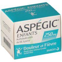 Aspegic Enfants 250, Poudre Pour Solution Buvable En Sachet-dose à NEUILLY SUR MARNE