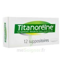 Titanoreine Suppositoires B/12 à NEUILLY SUR MARNE