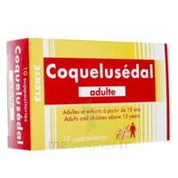 Coquelusedal Adultes, Suppositoire à NEUILLY SUR MARNE