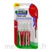Gum Trav - Ler, 0,8 Mm, Manche Rouge , Blister 4 à NEUILLY SUR MARNE