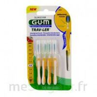 Gum Trav - Ler, 1,3 Mm, Manche Jaune , Blister 4 à NEUILLY SUR MARNE