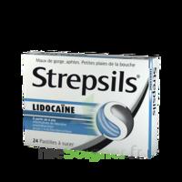 Strepsils Lidocaïne Pastilles Plq/24 à NEUILLY SUR MARNE