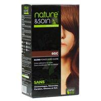 Nature & Soin Kit Coloration 6gc Blond Foncé Doré Cuivré à NEUILLY SUR MARNE
