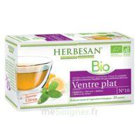 Herbesan Infusion Bio Tisane Ventre Plat 20 Sachets à NEUILLY SUR MARNE