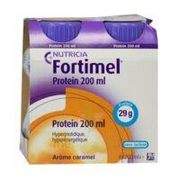 Fortimel Protein Nutriment Caramel 4 Bouteilles/200ml à NEUILLY SUR MARNE