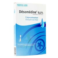 Desomedine 0,1 % Collyre Sol 10fl/0,6ml à NEUILLY SUR MARNE