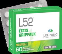 Lehning L52 Comprimés Orodispersibles Plq Pvc/pvdc/alu/60 à NEUILLY SUR MARNE