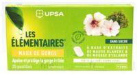Les Elémentaires Sans Sucre Pastilles Maux De Gorge Pomme Verte B/20 à NEUILLY SUR MARNE