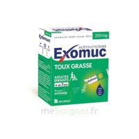 Exomuc 200 Mg, Granulés Pour Usage Oral En Sachet 15 Sachets/2g à NEUILLY SUR MARNE